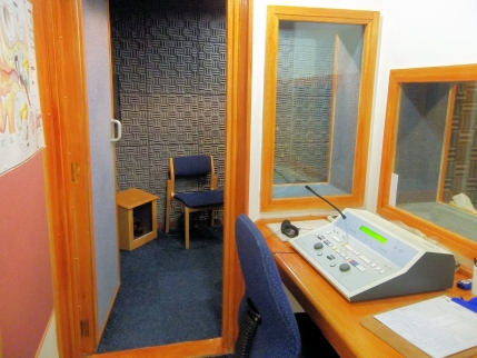 Hearing-test booth